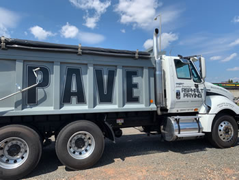 Asphalt Paving Truck